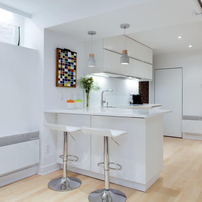 Rénovation d'un sous-sol à Outremont